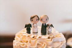 Teeeeeneri!  #wedding #cake #topper #torta #matrimonio