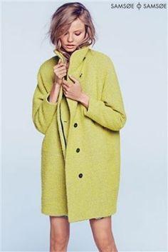 A. M. London Coral Boucle Coat at Next | British Fashion ...