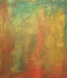 """Glimpse of the Future"". Oil on canvas. 27.55 x 23.62 in (70 x 60 cm)."