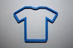 Shirt Cookie Cutter Tshirt Cookie Cutter Jersey by angelcakesetc2