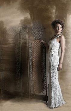 Crochet Pattern / Dress No. 222. $5.99, via Etsy.