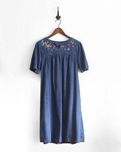 Denim Vintage Dress
