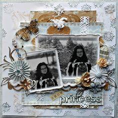 Snow Princess~~Your Memories Here~~ - Scrapbook.com