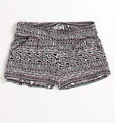 Kirra Knit Print Shorts #Pacsun