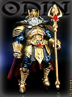 Odin the Allfather (Marvel Legends) Custom Action Figure