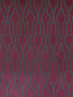 Velvet Upholstery Fabric Plum Velvet Fabric by greenapplefabrics, $98.00