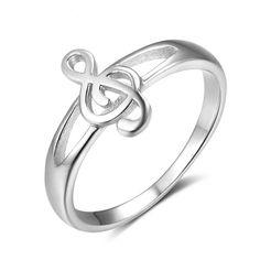 LGSY V Chevron 925 Sterling Silver Bands Rings for Women Girls Cubic Zircon Rings