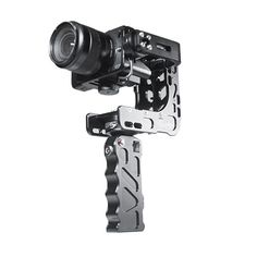 Hand-held gimbal stabilisers are certainly in vogue these days and there's plenty of them around, regardless of you camera - whether a GoPro, a DSLR, or a full blown RED Epic, chances are there's a gimbal for you out there. Chinese manufacturer Cndntech have a new pistol-grip style portable gimbal called the Nebula 4000 Lite designed for small compact cameras like the Sony A7s, GH4, GoPro's and everything weighing less than 2.2 lbs/1 kg.
