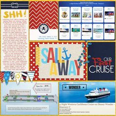 Disney Cruise Project Life Page by erica using Project Mouse (At Sea): Bundle by Britt-ish Designs & Sahlin Studio