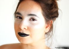 Chic Silver Halloween Makeup | Stephanie's Daily Beauty