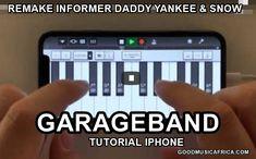 Garageband Tutorial iPhone: Remake Informer Daddy Yankee & Snow – 2020 Garageband, Music Software, Shaytards, Romeo Santos, Avicii, Selena Quintanilla, Daddy Yankee, Grace Kelly, Reggaeton