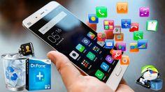 Como recuperar todos los archivos eliminados de tu android, recuperar fotos, vídeos, música de un smartphone o tablet dañado, recuperar archivos borrados de un celular android roto de la manera mas sencilla y fácil. Fuente:AndroideHD dr.fone