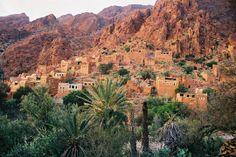 les montagnes de l'atlas, Maroc