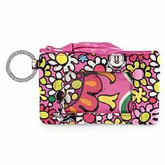 Disney Just Mousing Around Zip ID Case by Vera Bradley | Disney StoreJust Mousing Around Zip ID Case by Vera Bradley - Our eye-popping Zip ID Case, featuring the Just Mousing Around print created by Vera Bradley, is roomy enough to hold your cash, credit cards, and ID but small enough to tuck in your pocket. It's a perfectly pink on-the-go accessory.