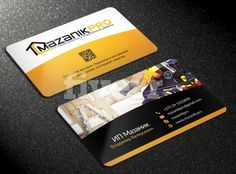 sample of professional business cards