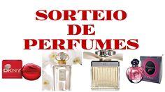 Sorteio de perfumes importados