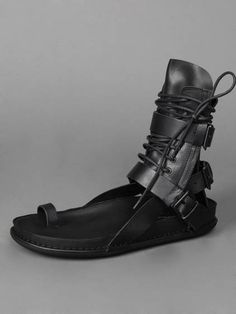XXl Century. The Future is Now! Ann Demeulemeester sandals.