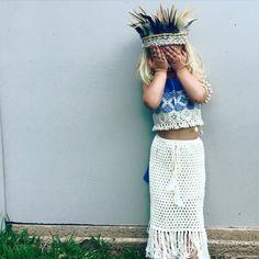 Gypsy Goddess Maxi Skirt