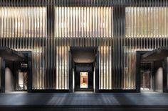 En avant-première, les images du premier hôtel signé de la cristallerie Baccarat. Ouverture prévue à New York le 2 mars prochain.
