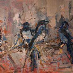 """Pie""  Oil on canvas  size 90x60 cm  https://web.facebook.com/MagdalenaNahirnyArt/"