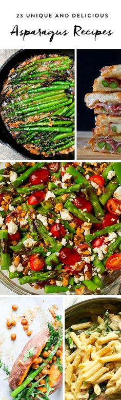 Make one of the following 23 asparagus recipes—you won't regret it.