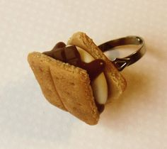 S'more ring  From ScrumptiousDoodle on Etsy