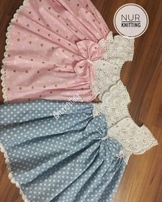 My little dresses prepared for years old 👗🎀 ❣️ In my story . - Kinder Kleidung - Baby clothing boy, Baby clothing girl, Gender neutral and baby clothing Baby Summer Dresses, Little Girl Dresses, Crochet Baby Clothes, Crochet Girls, Baby Girl Fashion, Kids Fashion, Baby Dress Patterns, Kids Frocks, Toddler Dress