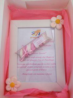 Cornice con decorazioni in fimo personalizzabile secondo i propri gusti e colori preferiti