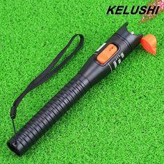 KELUSHI 10mW Plastics Fiber Optic Visual Fault Locator Red Laser Cable Tester Pen Testing Tool For CATV /FTTH