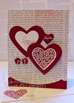 P.S. I love you by Stampin' Up!