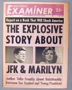 There were reports of an affair between Marilyn and JFK