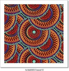 Free art print of Seamless african geometric pattern. Get up to 10 Gallery-Quality Art Prints for Free.