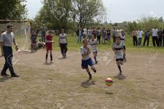 SLOVIANSK, UKRAINE - MAY 17, 2011: Unidentified Boys Playing.. Stock Photo, Picture And Royalty Free Image. Image 59301293.