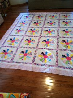 Completed the Dresden Plate Quilt Top fashioned after an old pattern from family made by Needlework from Deb