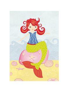 Mermaid by Stellax Creative for Minted