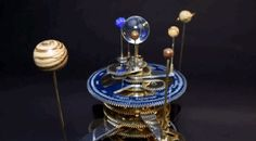 Fascinating Animated GIFs of a Mechanical Model of the Solar System