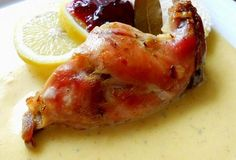 Králík na smetaně naložený v marinádě Baked Potato, Shrimp, Potatoes, Meat, Chicken, Baking, Ethnic Recipes, Potato, Bakken