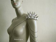Single Glam Epaulet Made to Order by binkaminka on Etsy