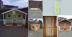 DIY Pallets Playhouse - Home Design - Google+