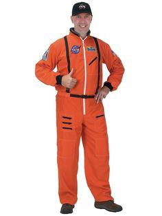 Halloween Adult Men's Astronaut Space Suit