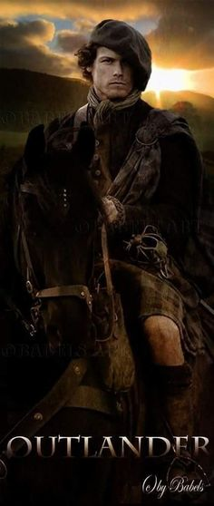 Sam Heughan as Jamie Fraser in the STARZ series Outlander Diana Gabaldon Outlander Series, Outlander Book Series, Starz Series, Outlander Characters, Outlander Season 1, Outlander 3, James Fraser Outlander, Sam Heughan Outlander, British American