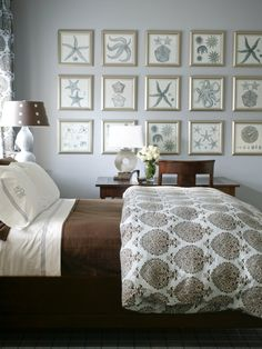 Bedroom Design, perfect for a summer cottage.