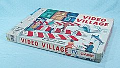 Video Village Game, Milton Bradley, 1960