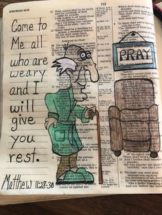 Come to me all who are weary and I will give you rest. #biblejournaling Matthew 11:28-30