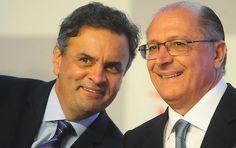 Aécio derrotado em 2016 pode ser prévia de Alckmin em 2018 A eleição acabou, mas o senador só tem um assunto: o fim do PT e a desconstrução da política. Caminho parecido trilha o vitorioso Alckmin, que corre o risco de ser devorado antes de chegar ao Planalto