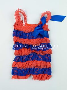 Denver Broncos  TheBeeBeeBoutique, $12.00 ♡ my princess has this one! She melts my heart every time! ♡ Denver Broncos Baby, Broncos Gear, Little Baby Girl, Baby Love, Baby Girls, Little Girl Fashion, Kids Fashion, Florida Gators Baby, Niece And Nephew