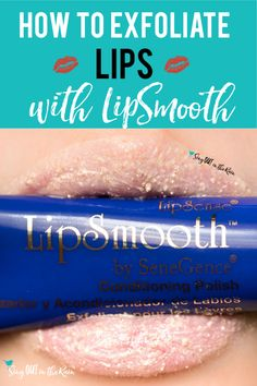 Soft lips are coveted. There are many scrubs that say they'll get your lips soft - but few deliver. SeneGence LipSmooth conditioning polish will blow your mind. click to see how this natural lipscrub product works. #lipsmooth #senegence