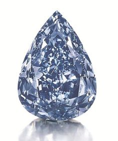 Harry Winston Buys World's Largest Flawless Vivid Blue Diamond For $23.8M and Names it 'The Winston Blue'... If I ever have the honor of naming an important diamond, I shall call it Fred or George and I shall hug it and kiss it....