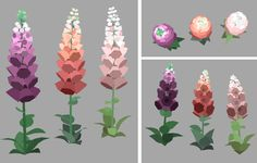 """I really like modelling flowers..."""