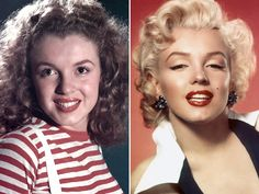 Marilyn Monroe Nose Job | marilyn monroe plastic surgery before and after photo